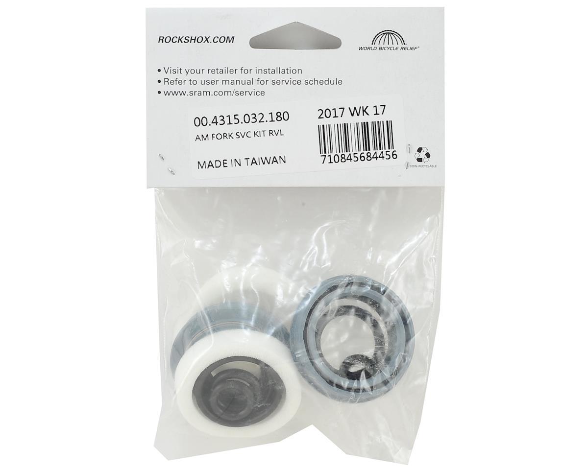 RockShox 2006-2012 Revelation Dual Air Basic Service Kit (Includes Dust  Seals, Foam Rings, O-Ring Seals)