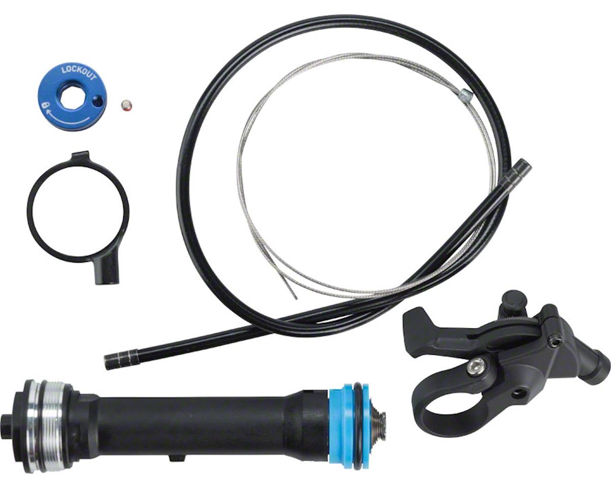 RockShox Remote Upgrade Kit, TurnKey 17mm, Includes Remote Compression Damper an