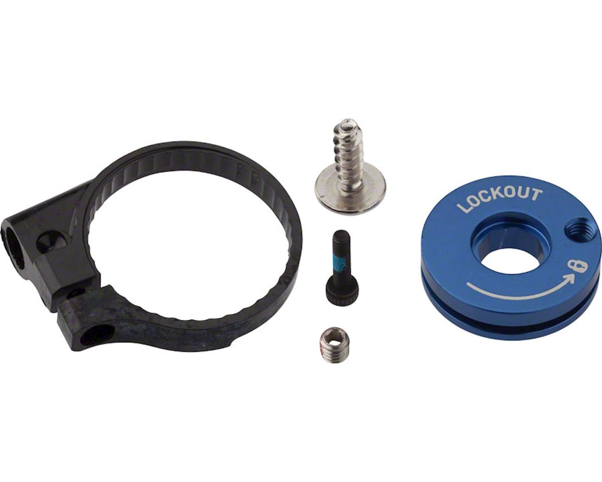 RockShox Remote Spool and Cable Clamp Kit, 2013-2016 Recon Gold TKRL/Sektor TKRL