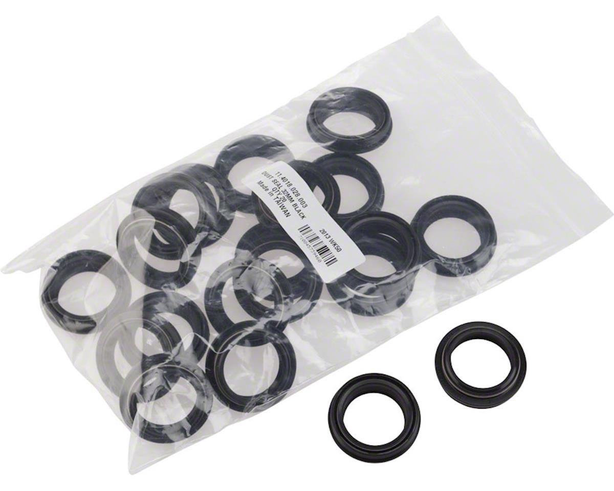RockShox Dust Seal: Black Flanged 32mm - SID/Reba/Revelation A3, Qty 20