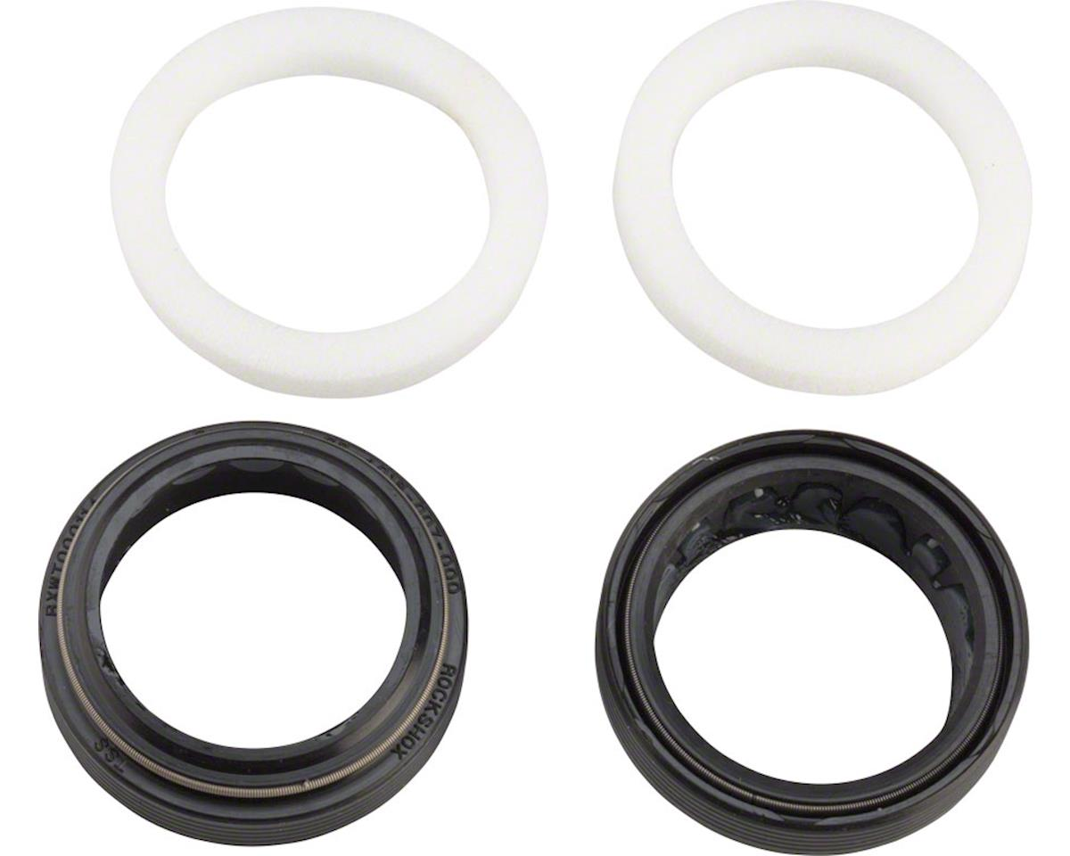 RockShox Dust Seal/Foam Ring Set: Black Flangeless 32mm x 41mm Seal Fits- Bluto/