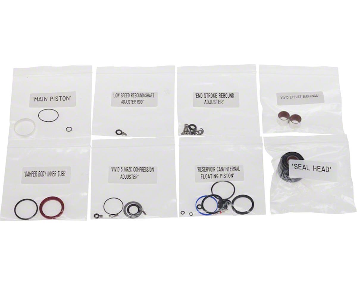 RockShox Rear Shock Service Kit, Full: 2011-2012 Vivid