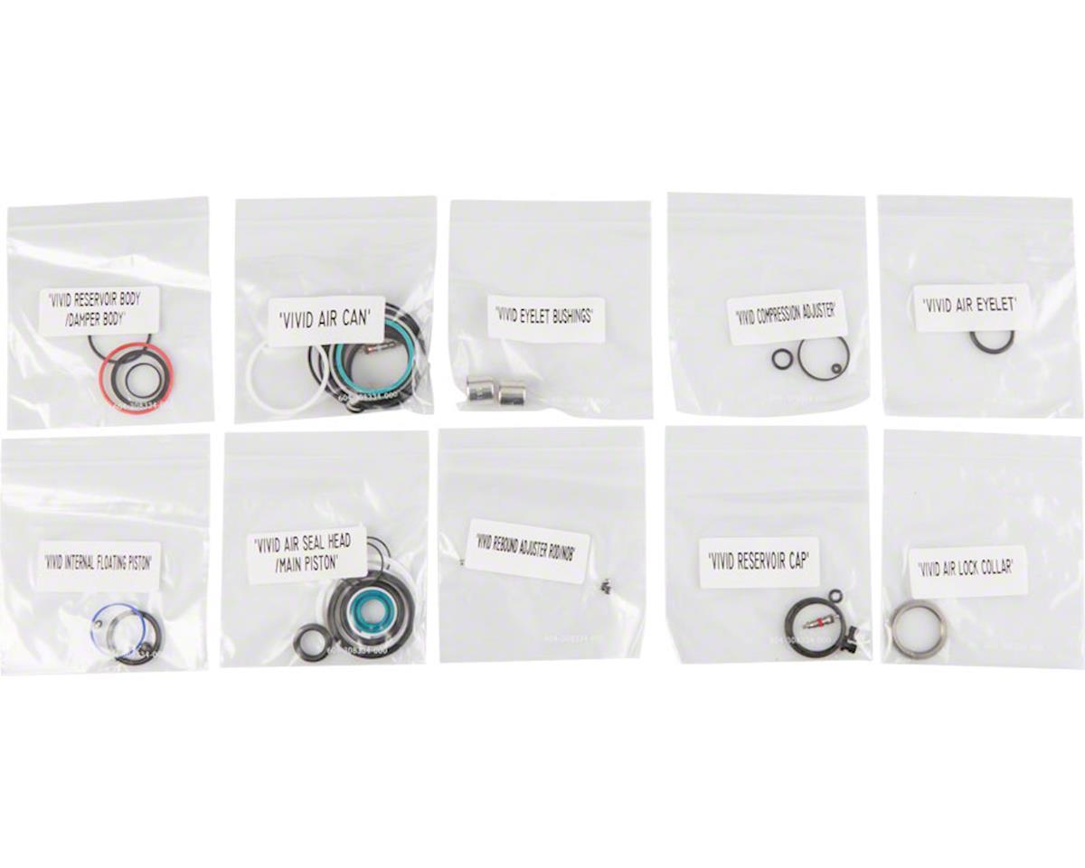 RockShox Rear Shock Service Kit, Full: Vivid Air, B1