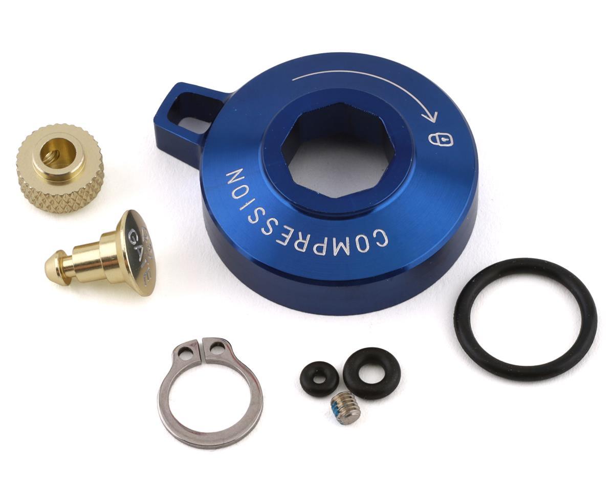 RockShox Motion Control Knob, Standard Alum w/ Cir-Clip