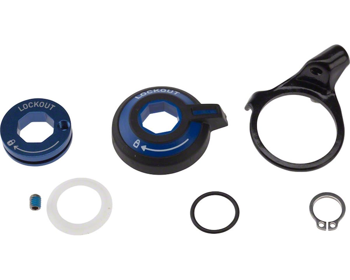 RockShox TurnKey Compression Adjuster Knob, Remote Spool & Cable Clamp Kit
