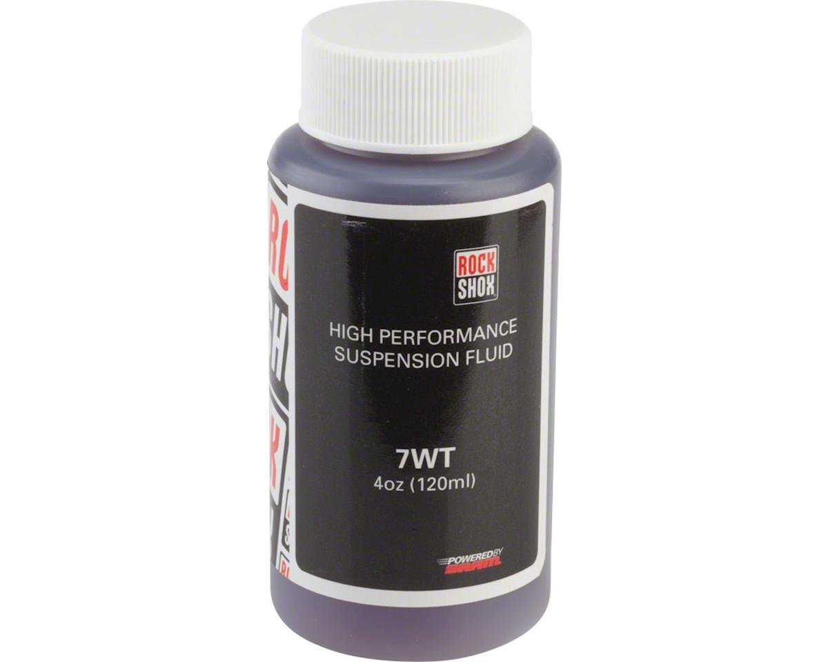RockShox Suspension Oil (7wt) (120ml Bottle) (Rear Shock Damper)
