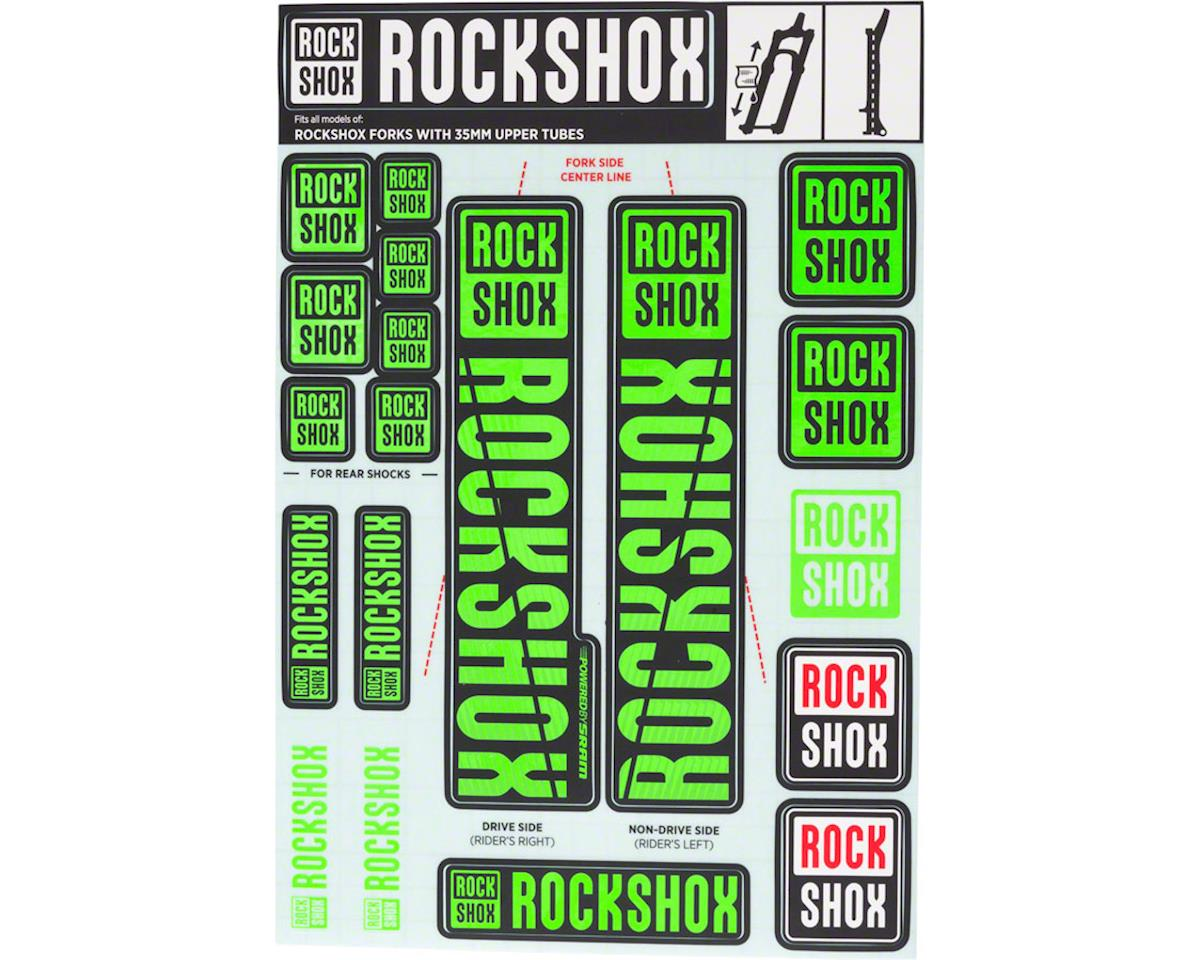 RockShox Decal Kit (35m) (Green)