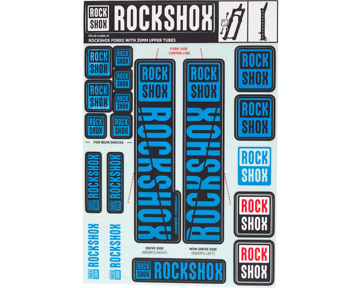 RockShox Decal Kit (35m) (Blue)