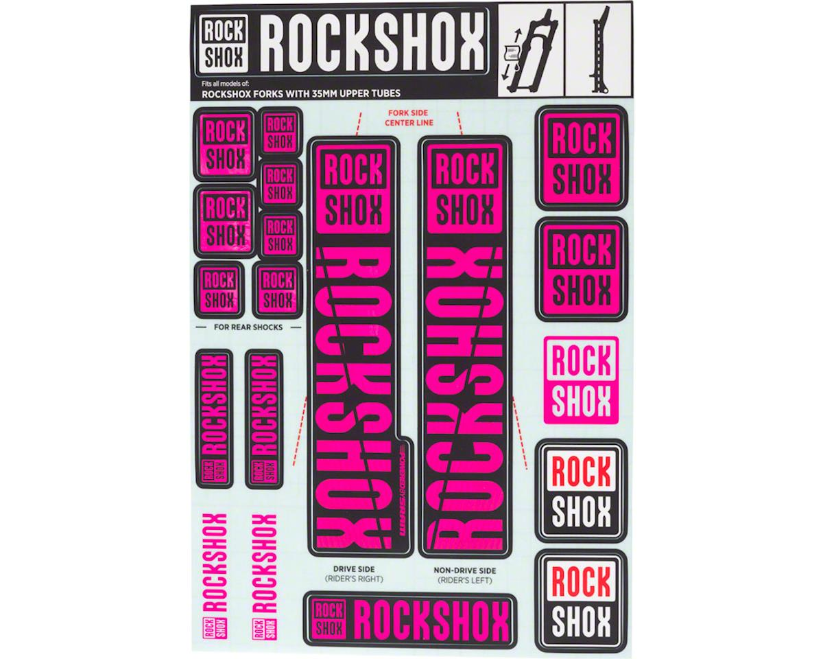 RockShox Decal Kit (35m) (Magenta)