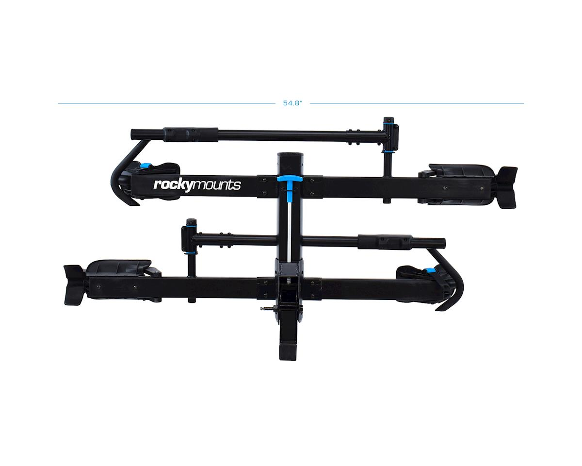"Image 1 for Rockymounts Rocky Mounts MonoRail 2-Bike Hitch Rack (Black) (2"")"