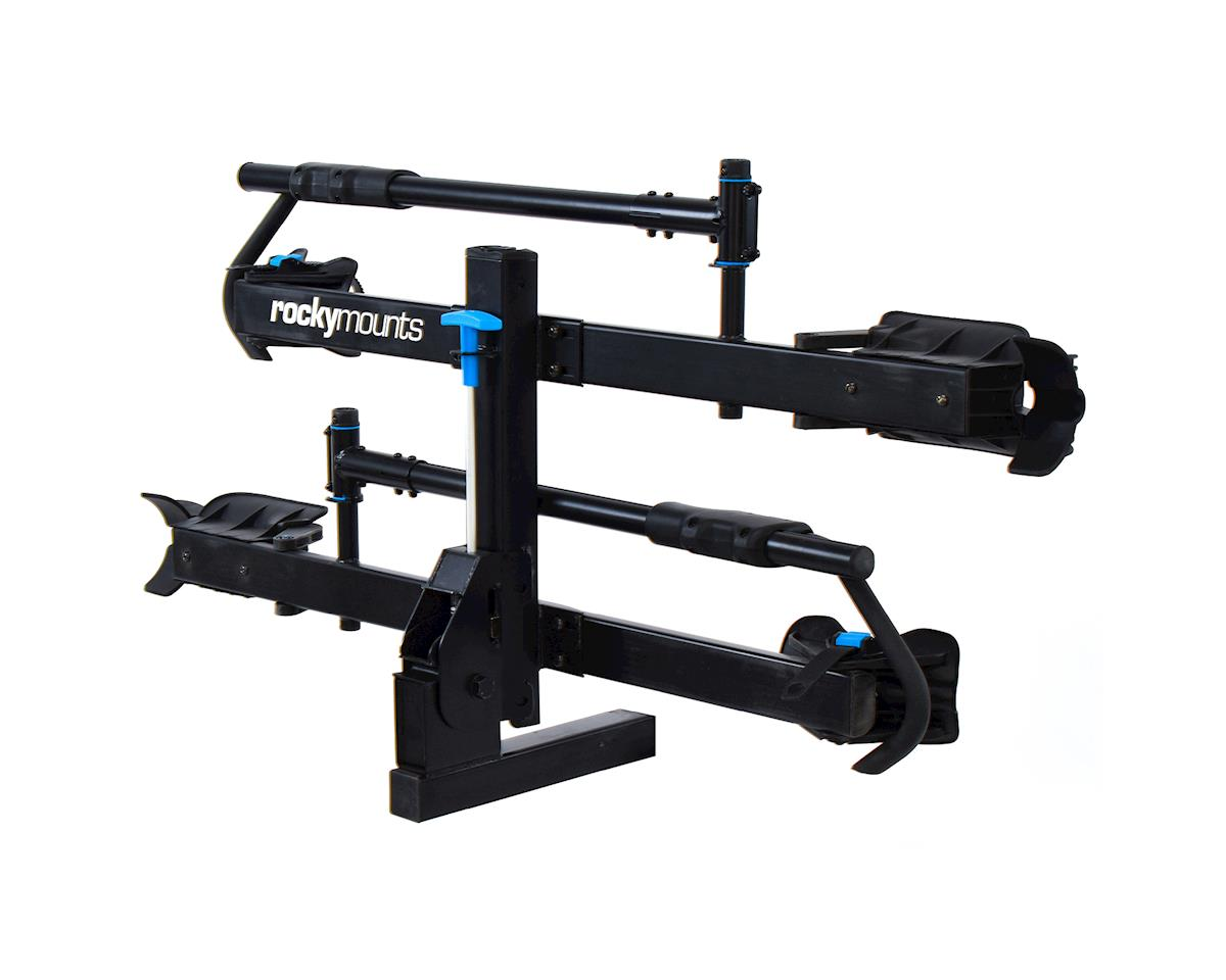 "Image 6 for Rockymounts Rocky Mounts MonoRail 2-Bike Hitch Rack (Black) (2"")"