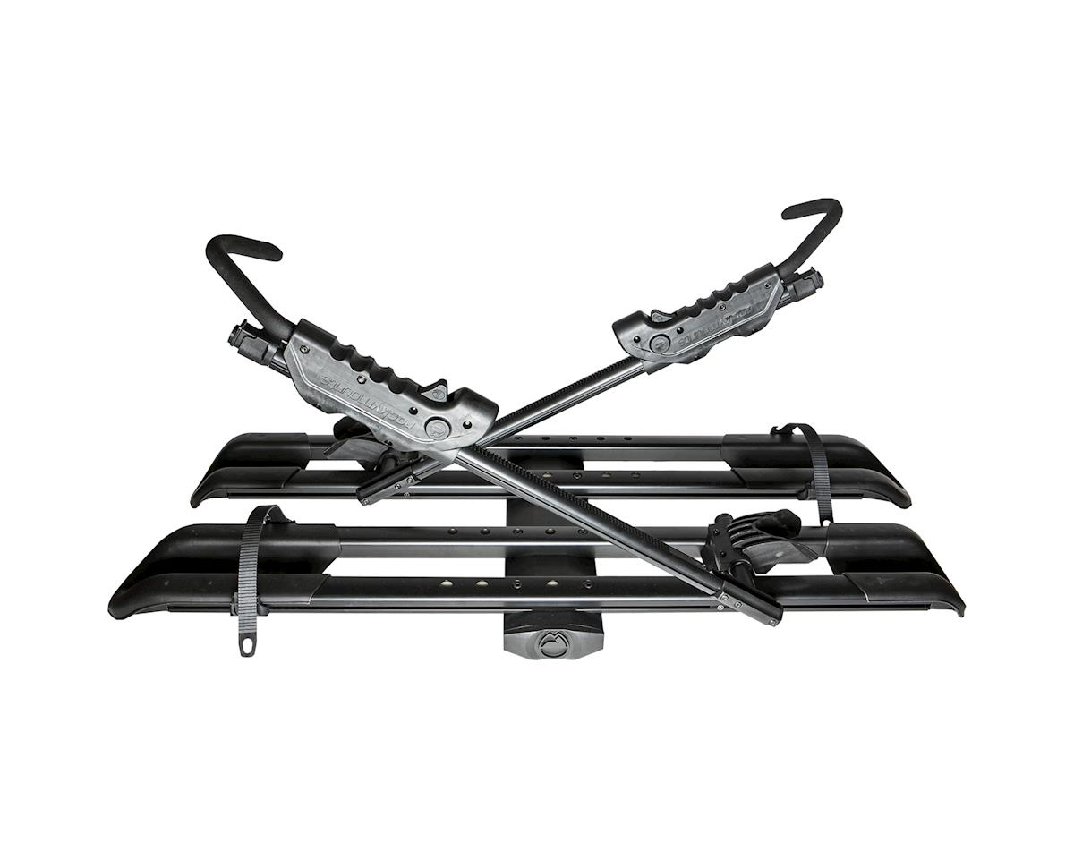 "Rockymounts Rocky Mounts SplitRail 2 Bike Hitch Rack (Black) (2"")"