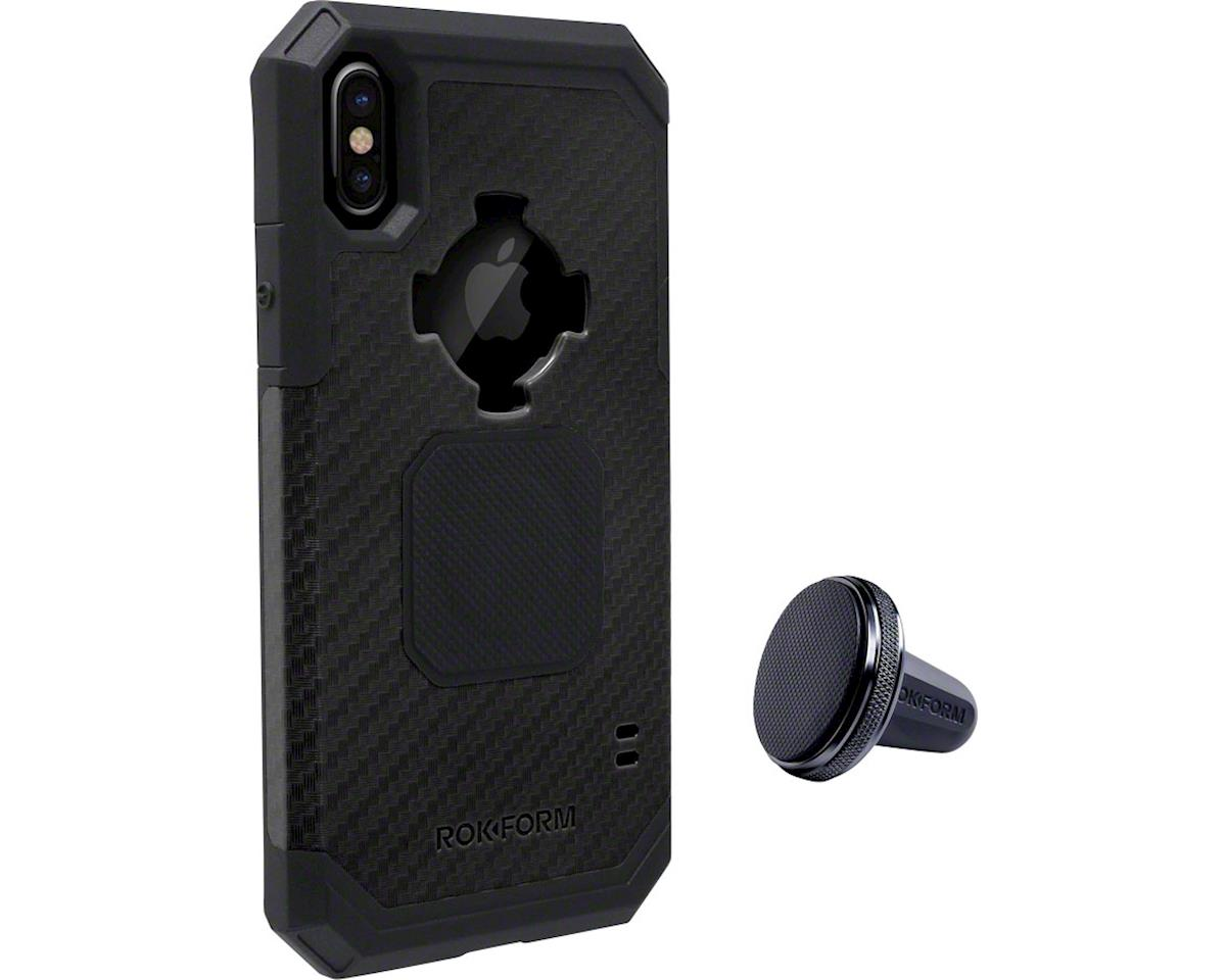 Rugged Case iPhone X: Black