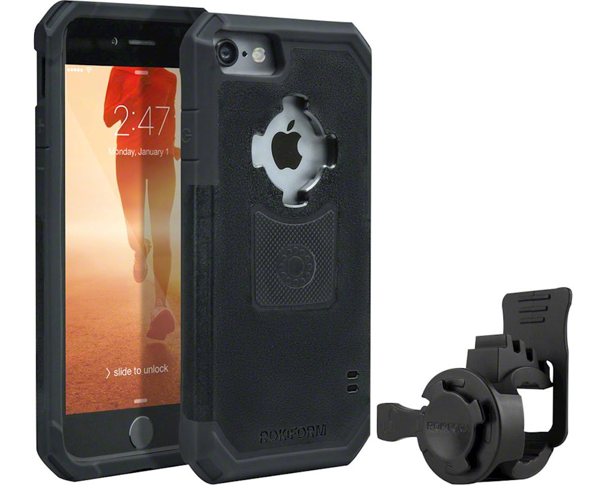 iPhone 7 and 8 Handlebar Mount Kit: Black