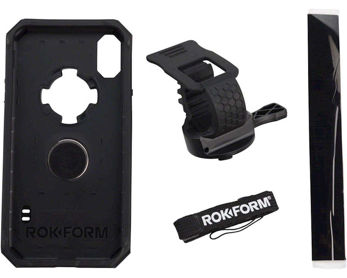 Rokform iPhone X Handlebar Mount Kit: Black