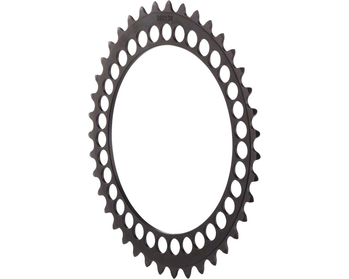 Rotor Q-Ring 130 x 5 BCD Five Oval Position Chainring: 39t inner for usewith 53t