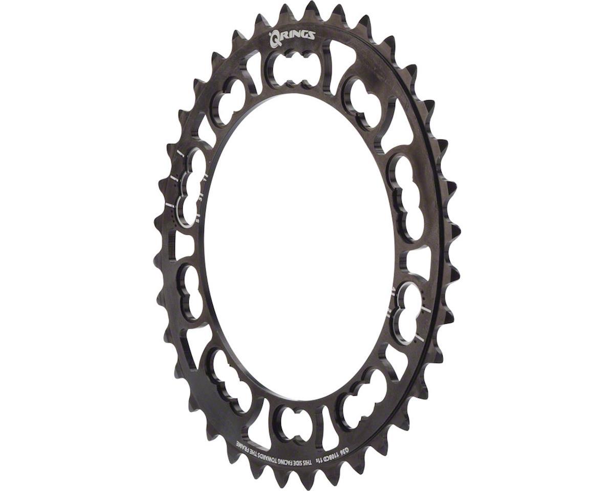 Qring 36t 110 BCD Black Inner