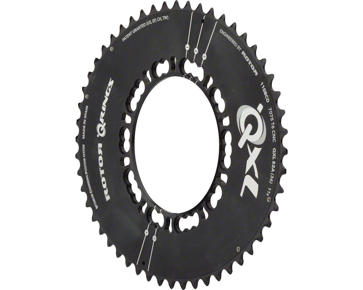 QXL Chainring: Black 46Ax110mm x5
