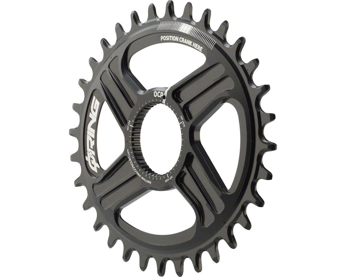 Rotor Oval Q-Ring Chainring: For Hawk and Raptor Cranksets, Direct Mount, 32T, B