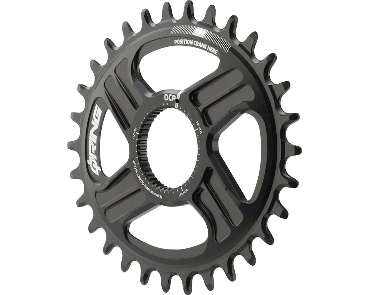 Rotor Oval Q-Ring Chainring: For Hawk and Raptor Cranksets, Direct Mount, 30T, B