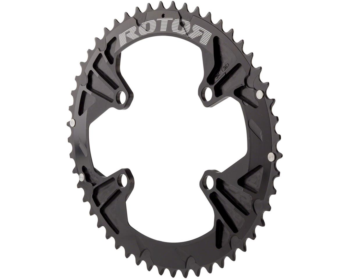 Rotor Q 110 x 4 Chainring: 53T Outer for Use With 39T Inner, Oval