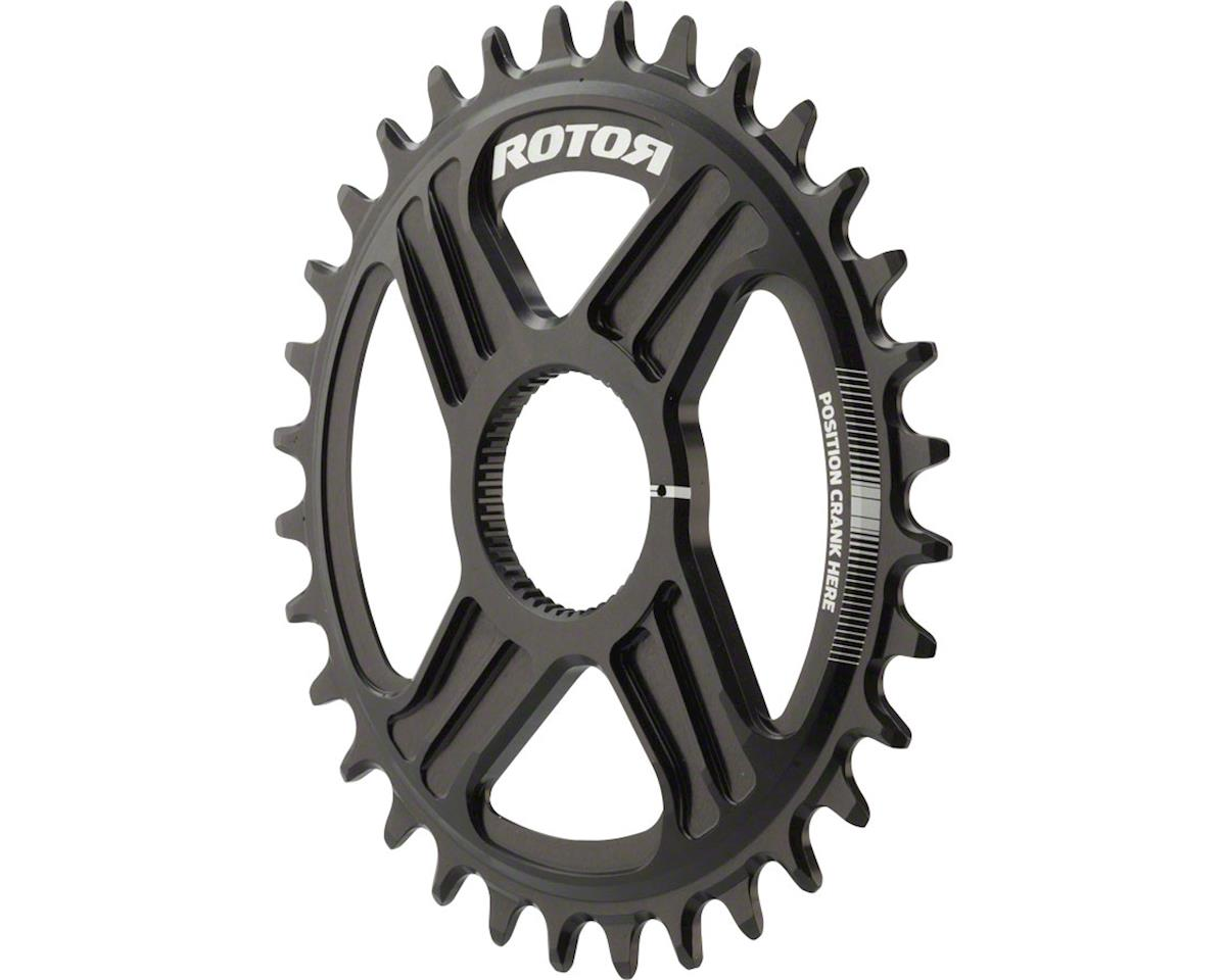 Rotor Round noQ-Ring Chainring: For Hawk and Raptor Cranksets, Direct Mount, 32T