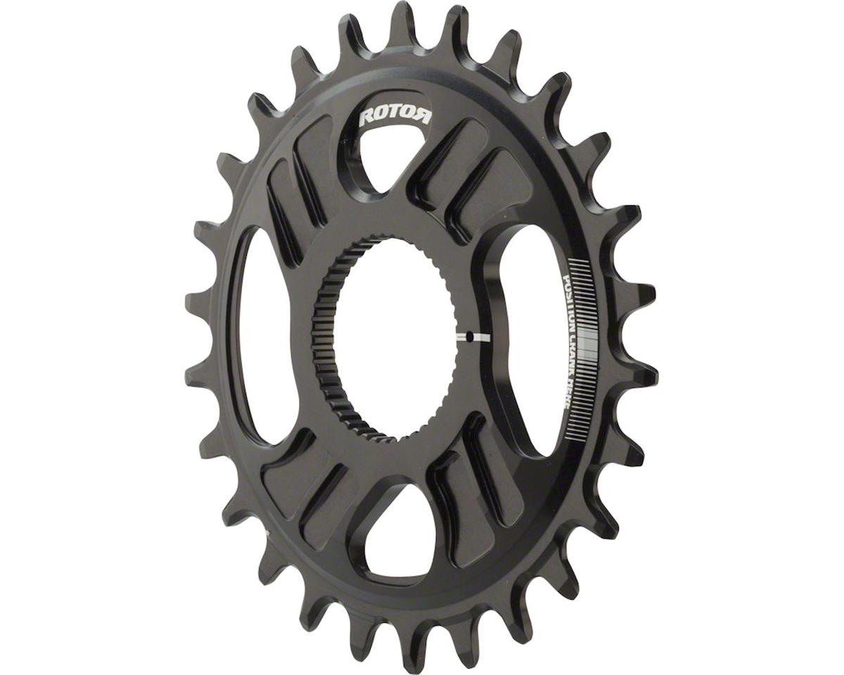 Rotor noQ Direct Mount Round Chainring: For Rotor Mountain Cranksets, 26t, Black
