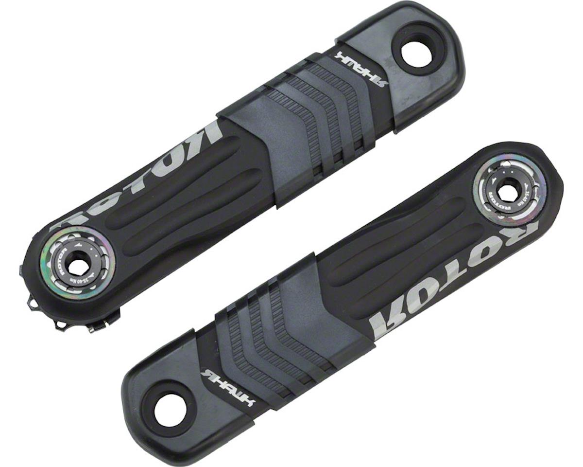 Rotor R-Hawk Crank Arm Set, 165mm Length, Black
