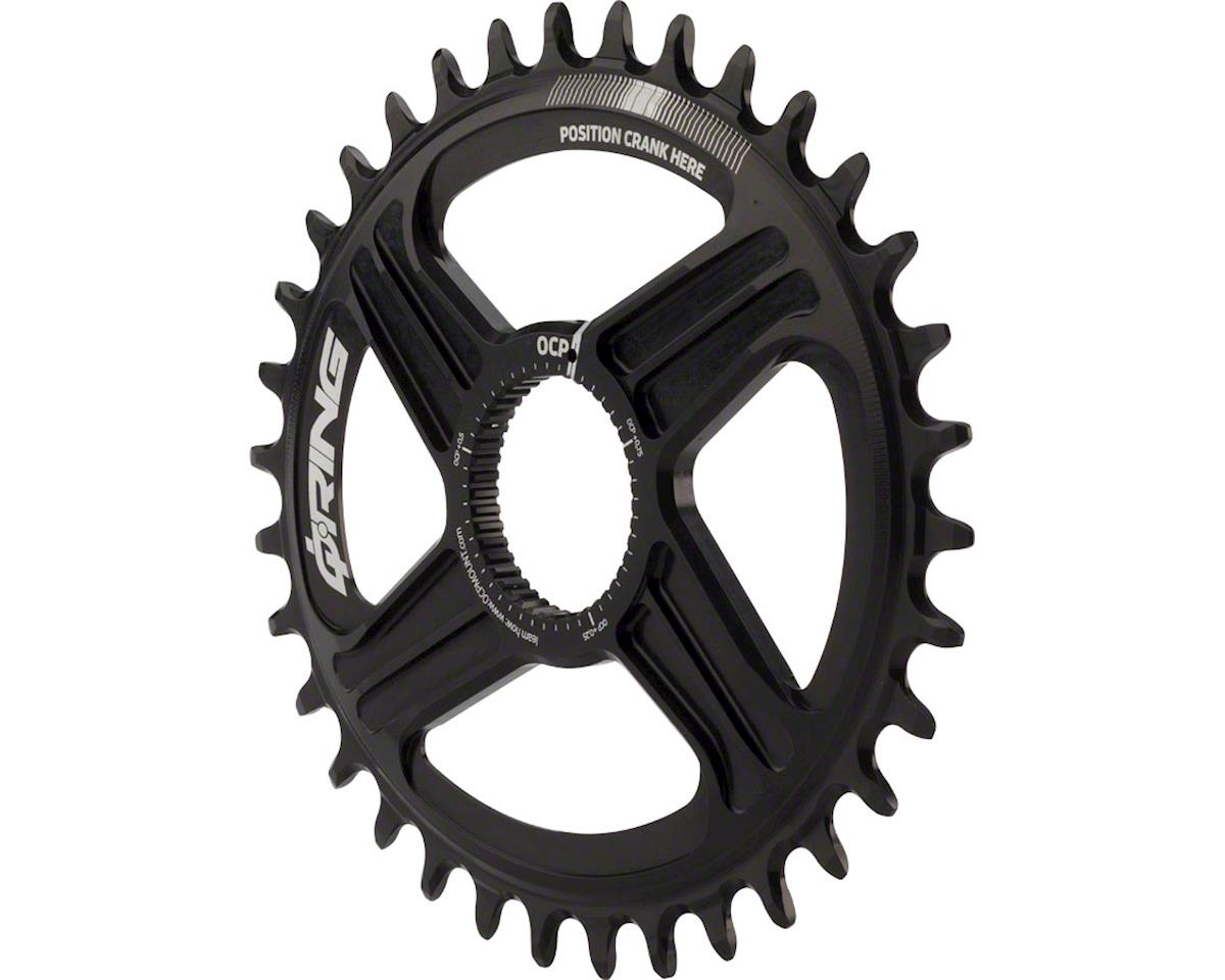 Rotor Q-Ring Direct Mount Oval Chainring: For Rotor Mountain Cranksets, 34t, Bla