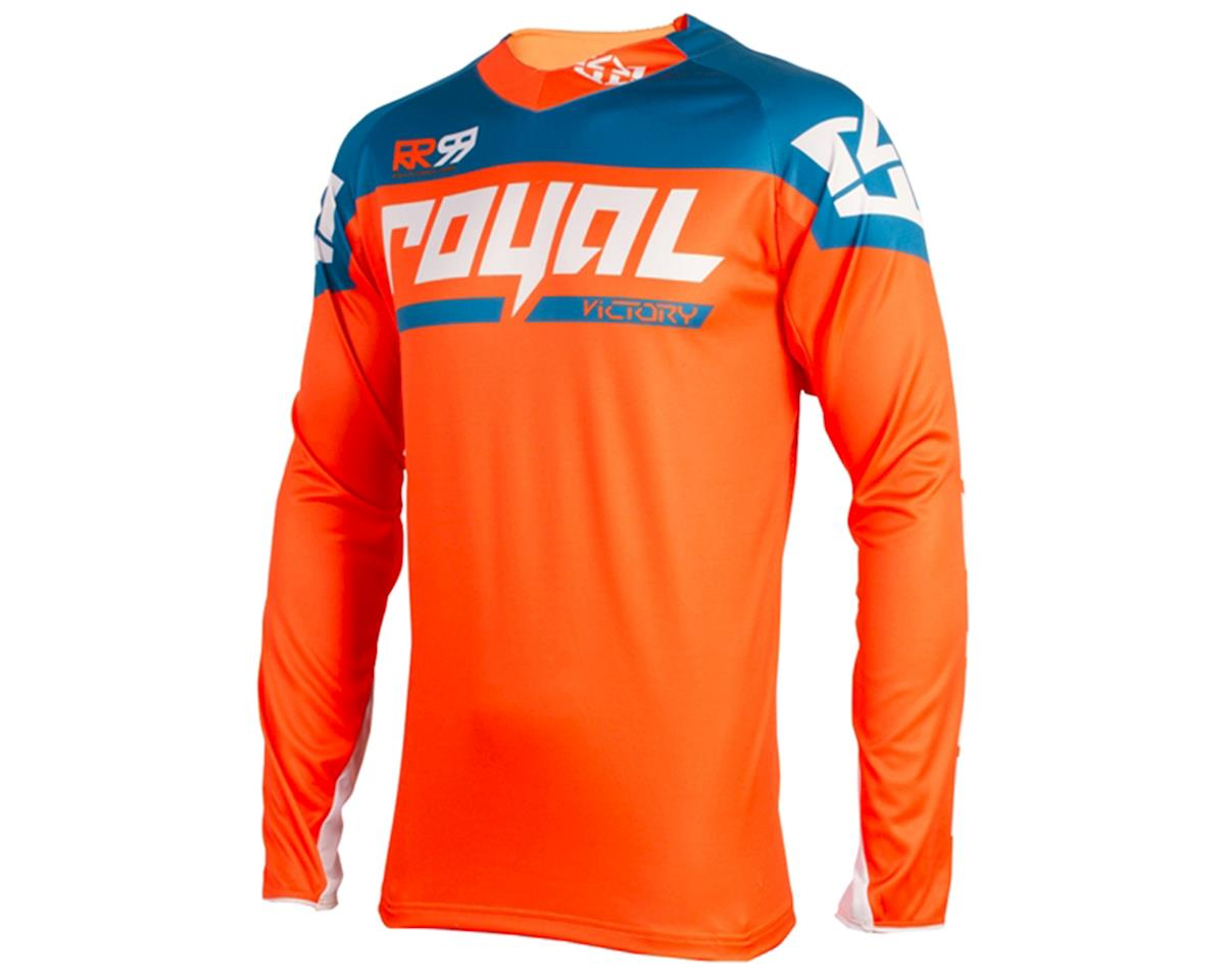 Royal Racing Victory Race LS MTB Jersey (Orange/Diesel)
