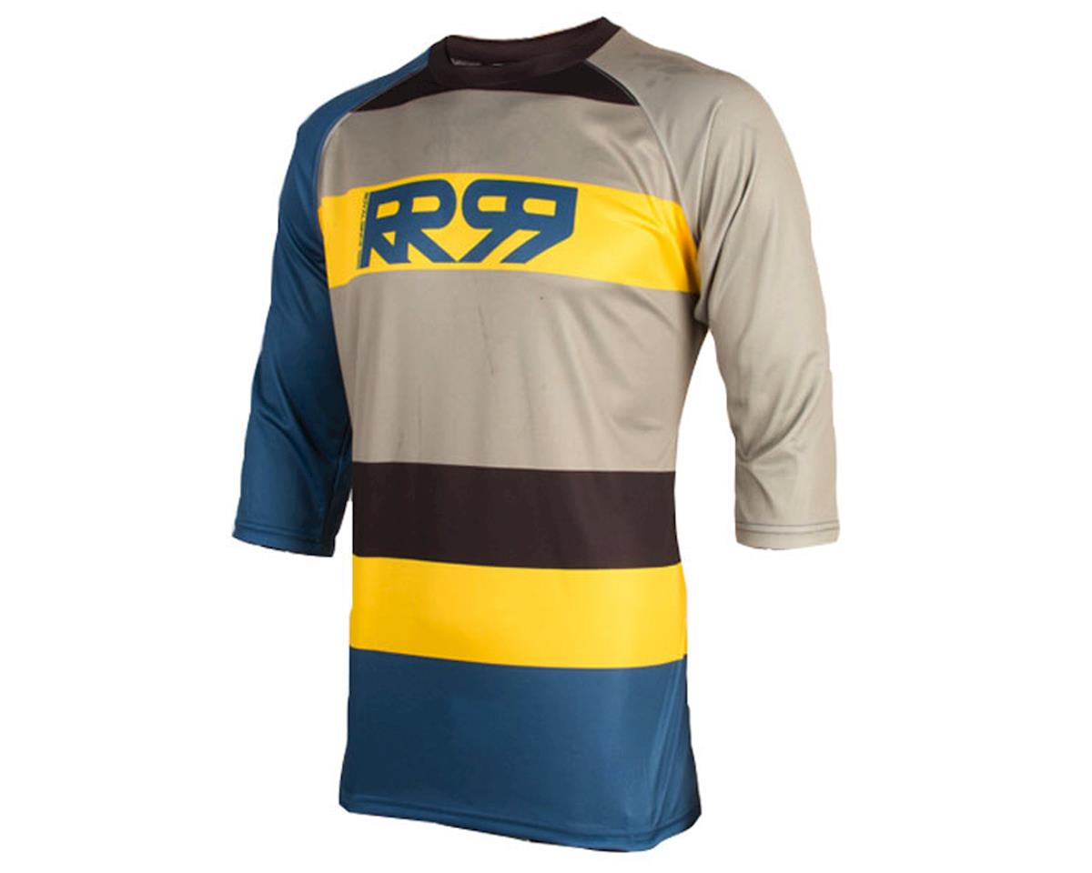 Drift 3/4 Jersey (Diesel Black/Yellow)