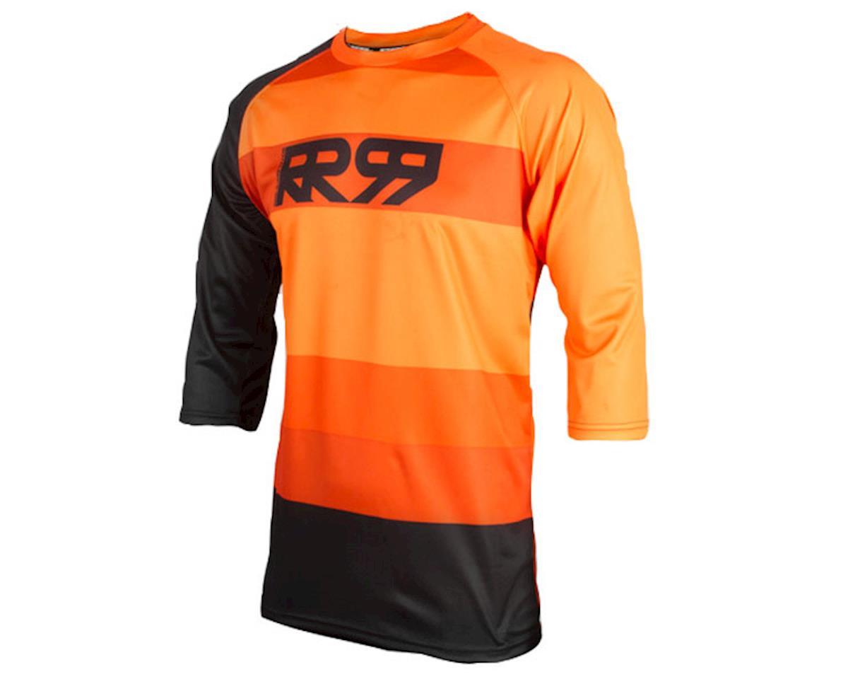 Drift 3/4 jersey, Amber/Black (L)