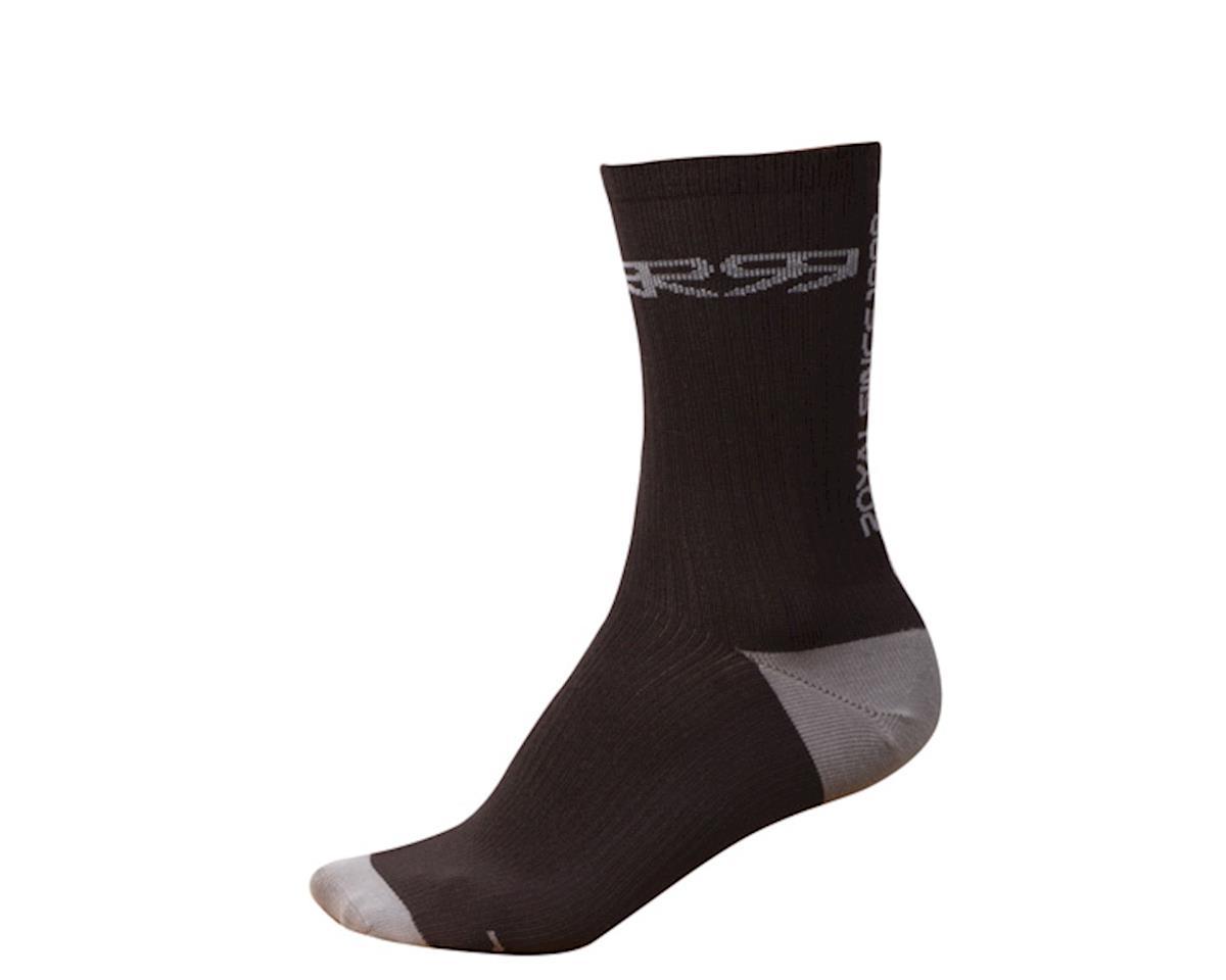 Royal Racing Altitude socks, black/grey (S/M)