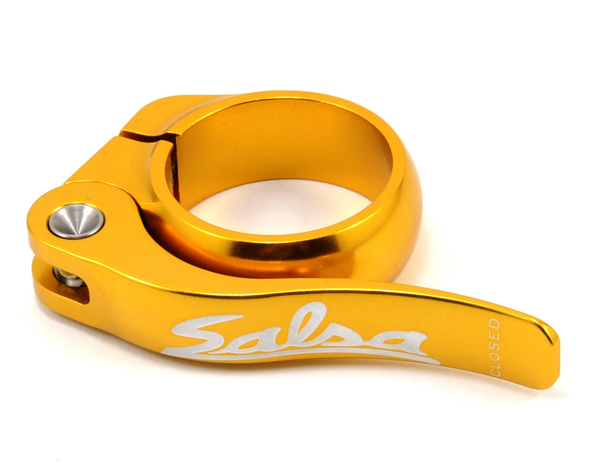 Salsa Flip-Lock Seat Collar (35.0) (Gold)