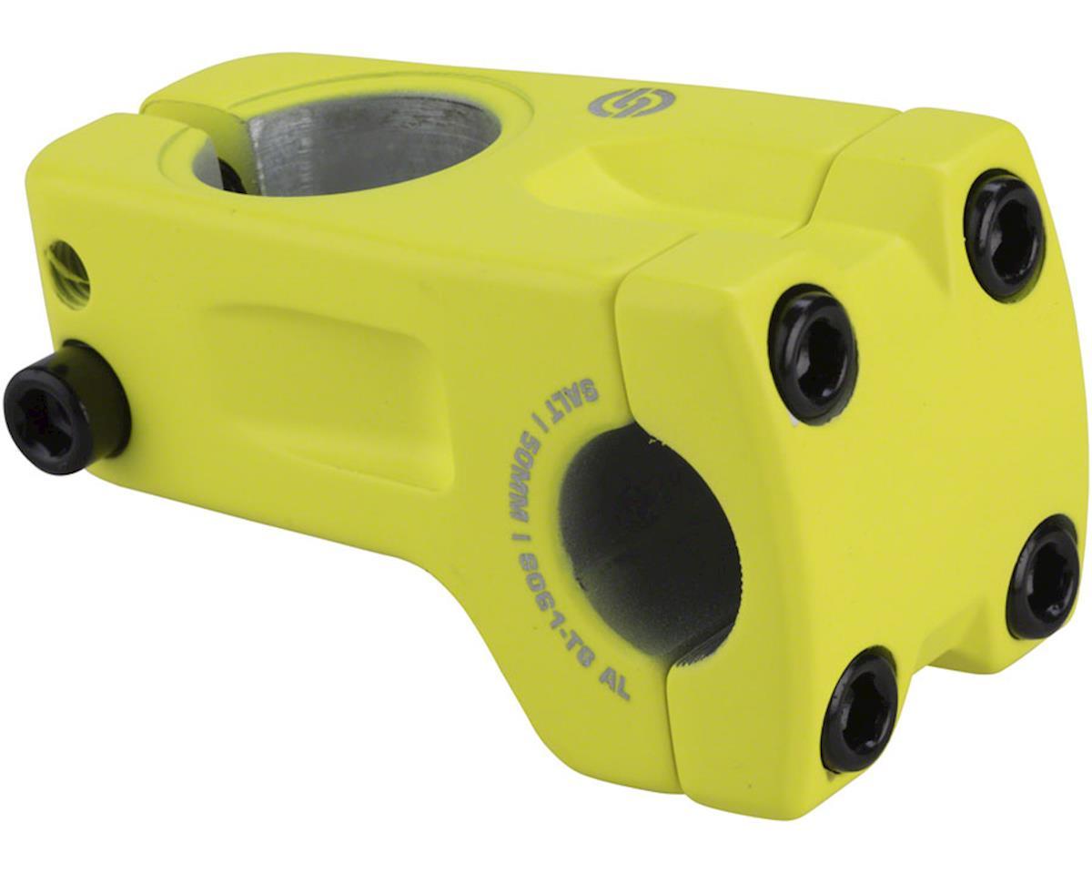 Salt Pro Frontload Stem 7mm Rise 50mm Reach Matte Neon Yellow