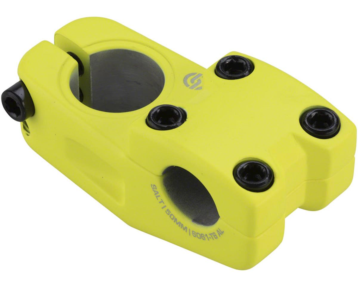 Salt Pro Topload Stem 33mm Rise 50mm Reach Matte Neon Yellow