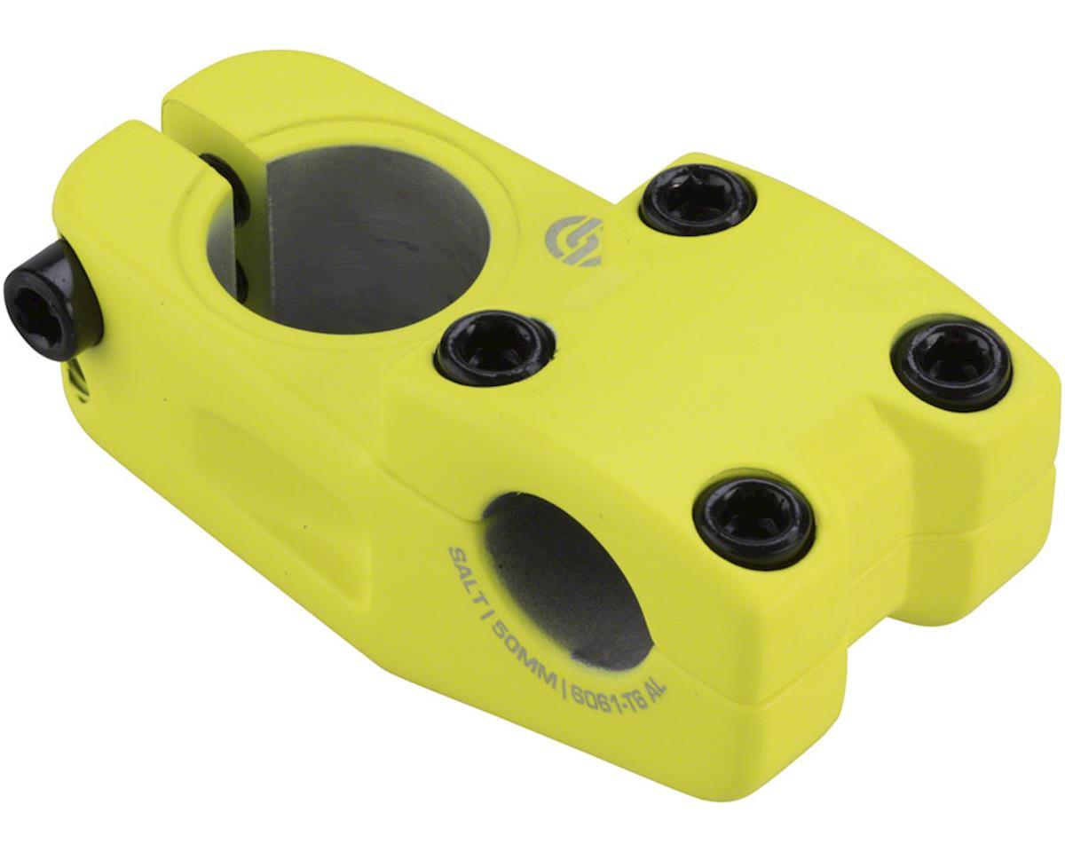 Salt Pro Topload Stem 33mm Rise 50mm Reach Matte Neon Yellow
