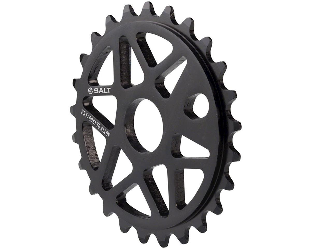 Salt Comp Sprocket 25t Black 23.8mm Spindle Hole With Adaptors for 19mm and 22mm