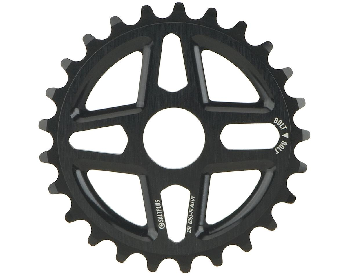 Salt Plus Center Bolt Drive Sprocket 25t Black Includes Adaptors for 19mm and 22