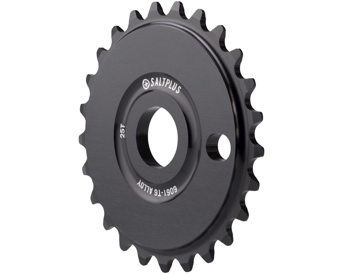 Plus Solidus Sprocket 28t Black 23.8mm Spindle Hole With Adaptors for 19mm