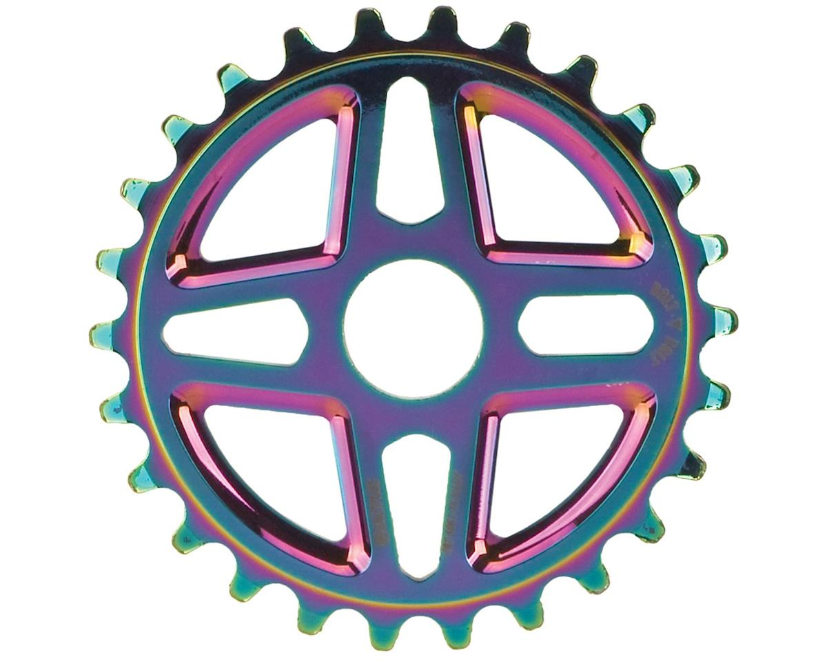 Salt Plus Center Bolt Drive Sprocket 28t Oil Slick Includes Adaptors for 19mm an