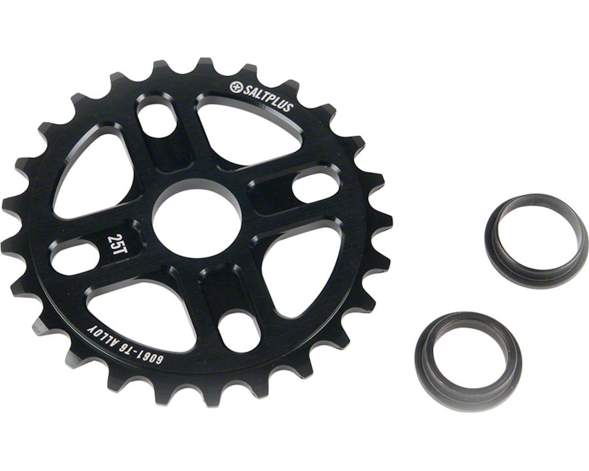 Plus Manta Bolt Drive Sprocket 25t Black Includes Adaptors for 19mm and 22m