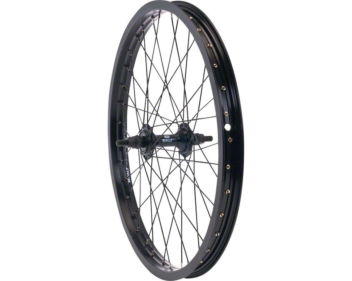 "Rookie Front Wheel 16"" 28H 3/8"" Axle Black"