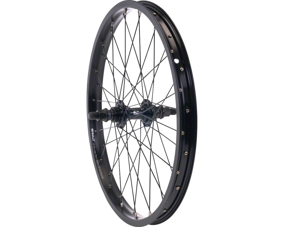 "Rookie Rear Wheel 18"" 28H 14mm Axle Black"