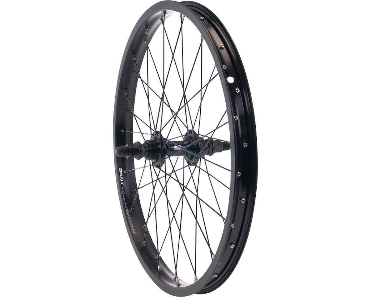 "Rookie Rear Wheel 16"" 28H 3/8"" Axle Black"