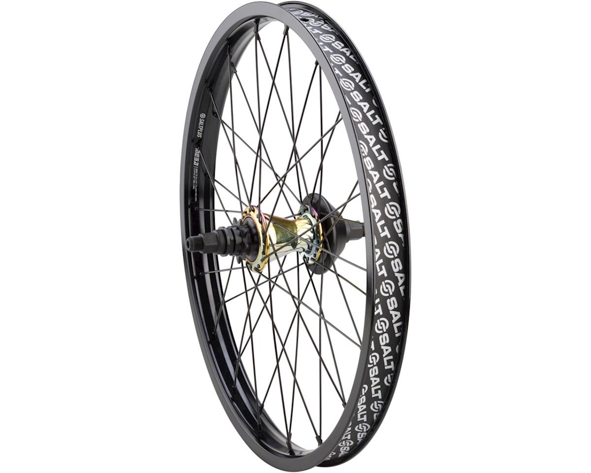 Plus Mesa Rear Cassette Wheel with Trapeze Hub, Summit Rim and Nylon Hub Gu