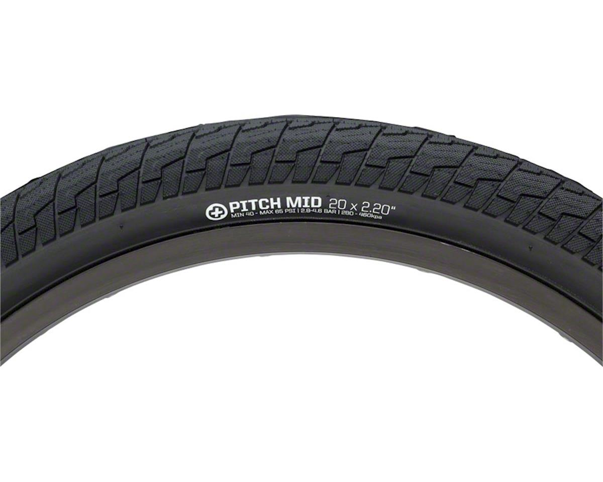 "Plus Pitch Mid Tire 20"" x 2.3"" Black"