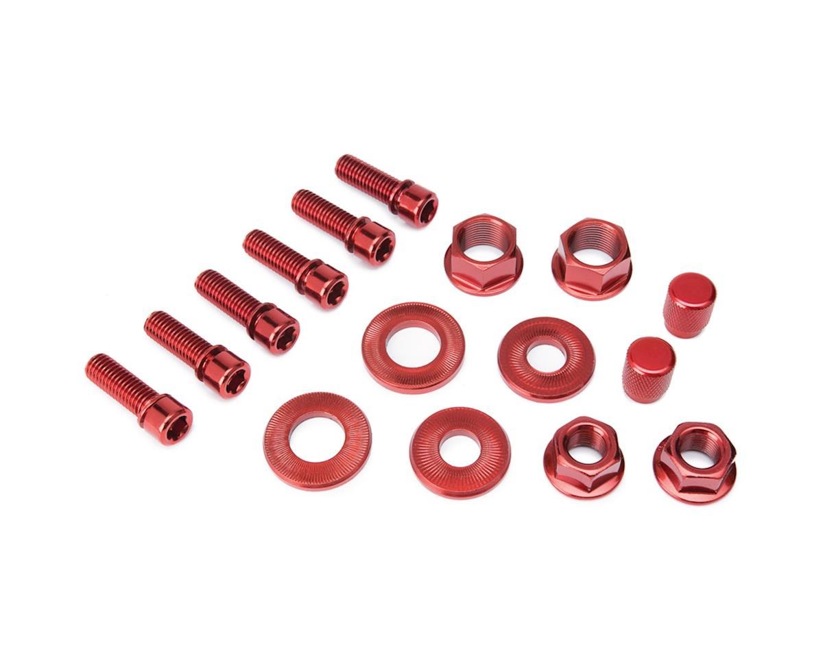 Nut and Bolt V2 Hardware Pack Red