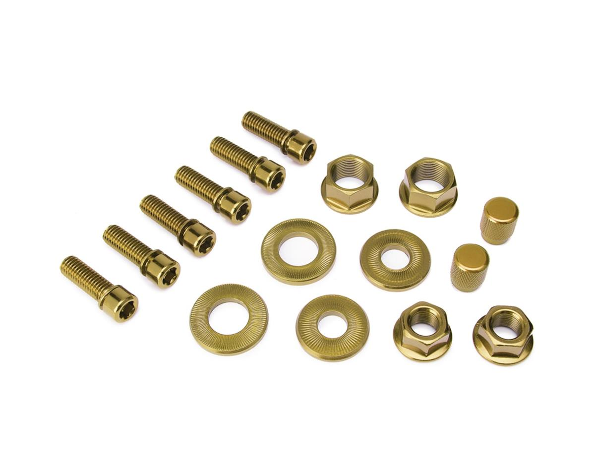 Salt Nut and Bolt V2 Hardware Pack Gold
