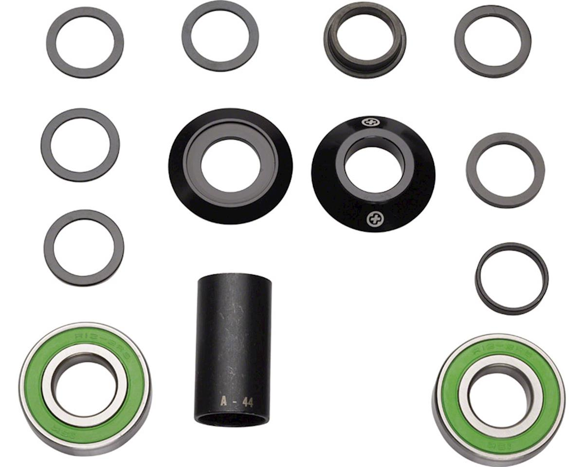 Salt Plus Echo Sealed 22mm Mid Bottom Bracket Set Black